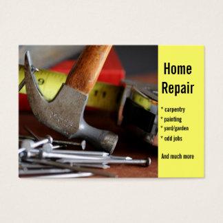Home Repair,  carpentry,  painting ... Business Card