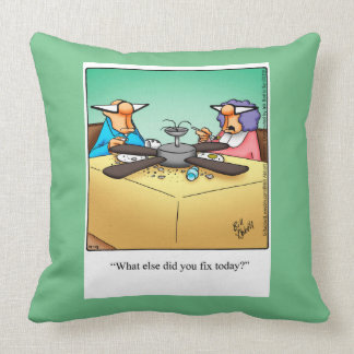 Home Repair D.I.Y. Humor Pillow Gift