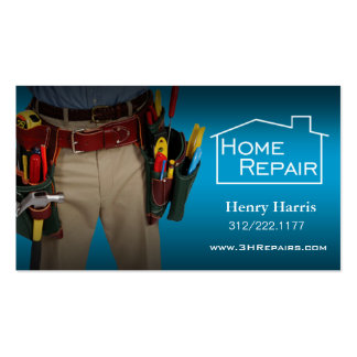 Home Repair Handyman Pack Of Standard Business Cards