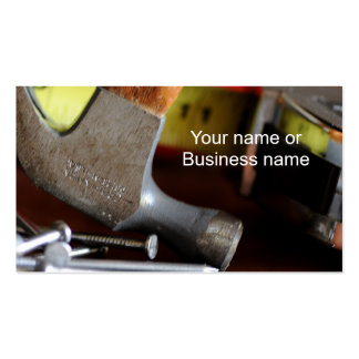 home repairs pack of standard business cards