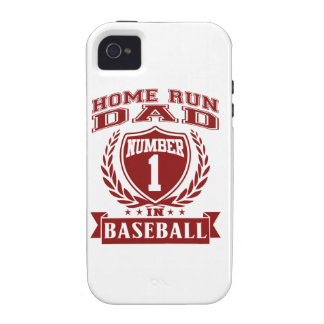 Home Run Dad iPhone 4 Case