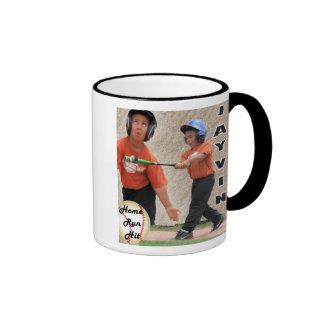 Home Run Hit Ringer Mug