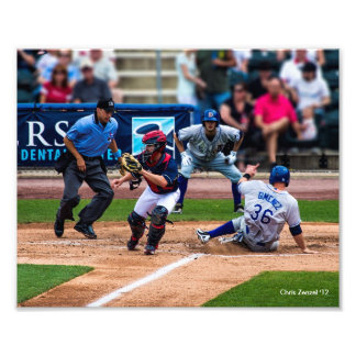 Home Run with the Iron Pigs Photographic Print