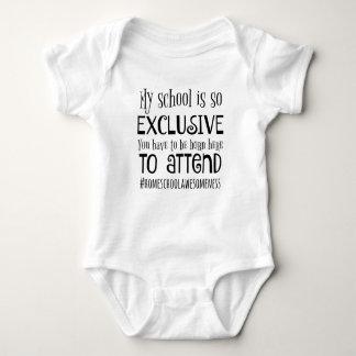 Home school baby vest baby bodysuit