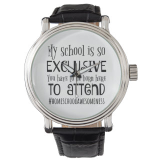 Home School gift watch for him