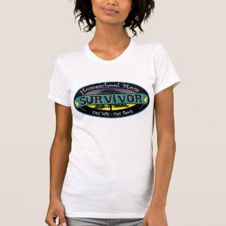 Home School Survivor Mum Tee Shirt