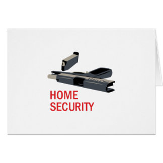 Home Security Card