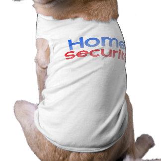 Home Security Sleeveless Dog Shirt