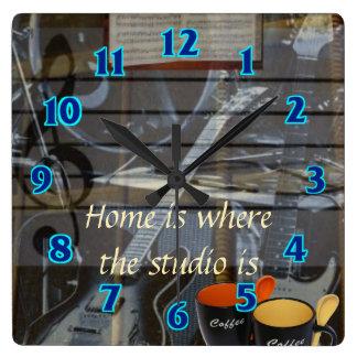 Home Studio Clock