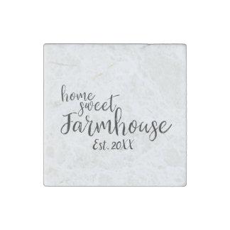 Home Sweet Farmhouse Established 20XX Magnet