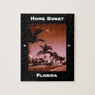 home sweet florida jigsaw puzzle