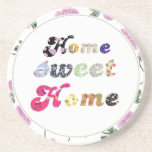 Home Sweet Home Beverage Coasters