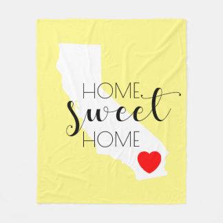 Home Sweet Home | California Fleece Blanket