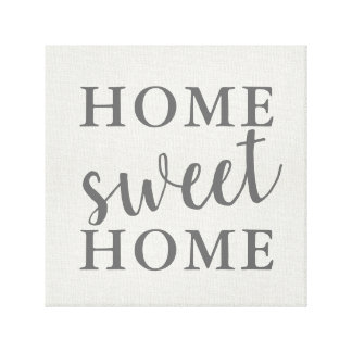 Home Sweet Home Canvas Print
