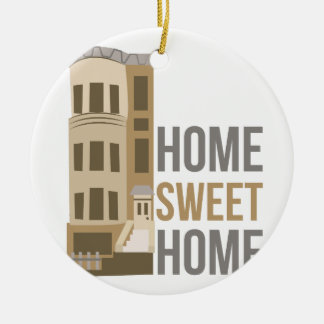 Home Sweet Home Ceramic Ornament