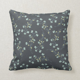 """""""Home Sweet Home"""" Coordinating Floral Throw Pillow"""