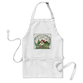 Home Sweet Home Cottage Standard Apron