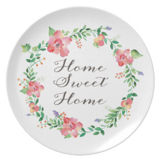 Home Sweet Home Decorative Plate
