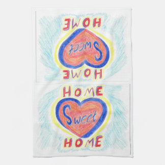 Home Sweet Home Double Image Kitchen Towel