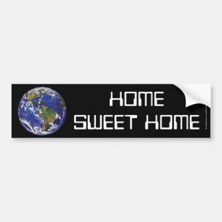 Home Sweet Home Earth Art Bumper Sticker Car Bumper Sticker
