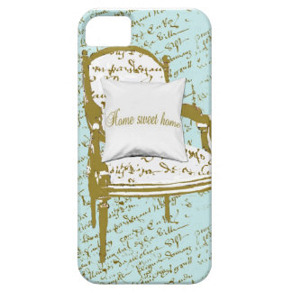 Home Sweet Home, French Script Case For The iPhone 5