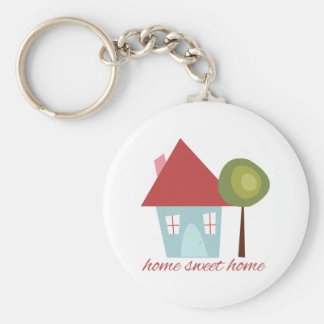 Home Sweet Home Key Ring