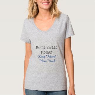 HOME SWEET HOME! LONG ISLAND, NEW YORK TSHIRT