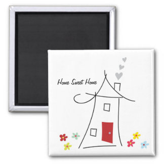 Home Sweet Home Magnet Favors