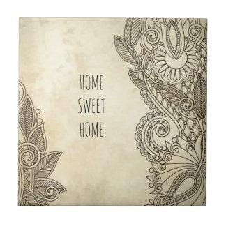 Home Sweet Home memorabilia, perfect gift Tile