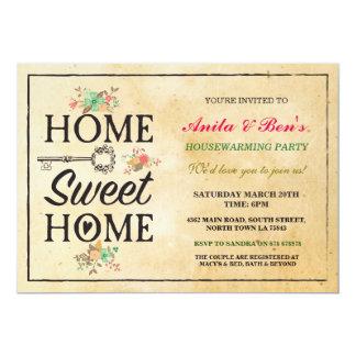 Home Sweet Home New Home Housewarming Invitation