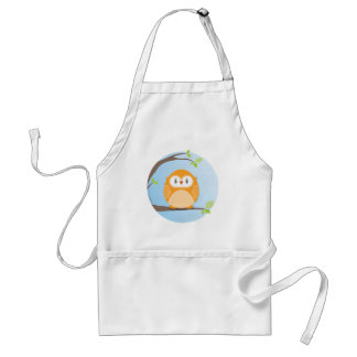 HOME SWEET HOME :: Owl in a tree 4 Standard Apron