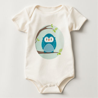 HOME SWEET HOME :: Owl in a tree 5 Baby Bodysuit