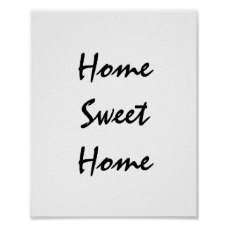 Home Sweet Home Poster