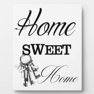 Home Sweet Home Printable Art Plaque