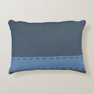 Home Sweet Home Steel Blue Decorative Cushion