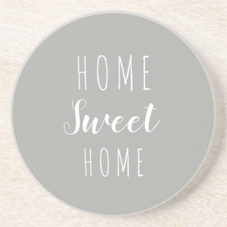 Home Sweet Home Stone drink coaster