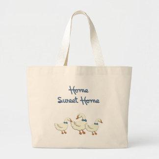 Home Sweet Home Canvas Bag