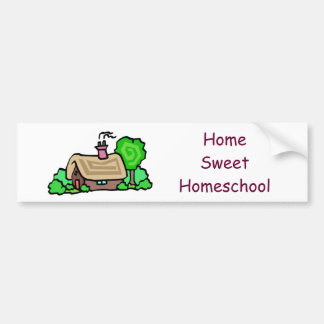 Home Sweet Homeschool Bumper Sticker