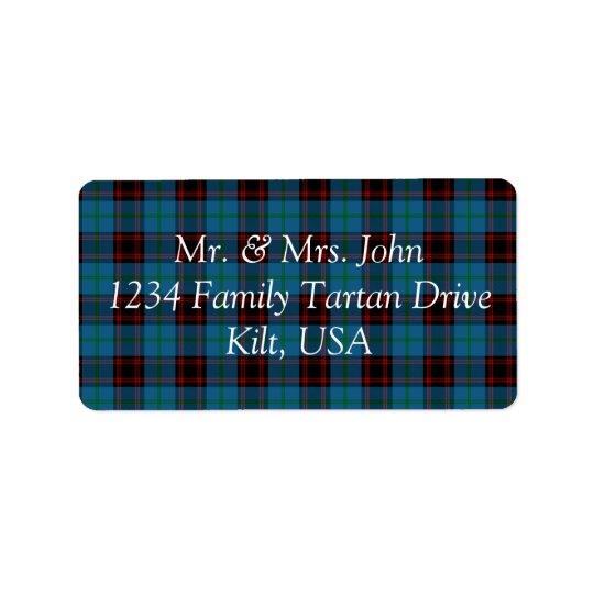 Home Tartan Label