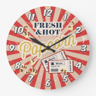 Home Theater Cinema Wall Clock