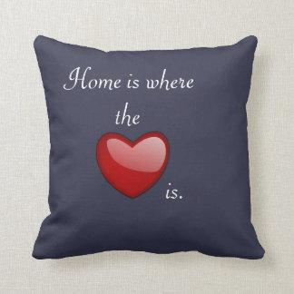 Home where heart is - Pillow Cushion