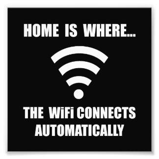 Home WiFi Photo Art