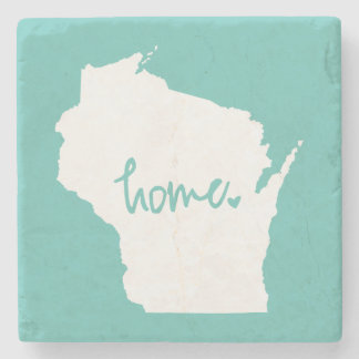 Home Wisconsin Custom Colour Stone Coaster