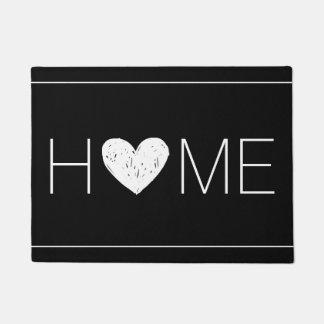 Home with Heart Doormat
