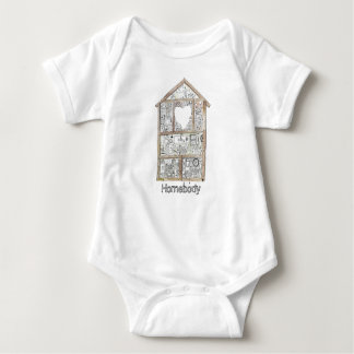 Homebody baby bodysuit