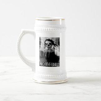 Homebrew Grey Logo Beer Stein