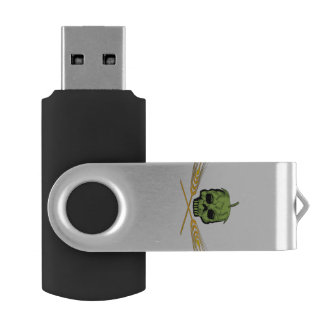 Homebrew Pirate Swivel USB 2.0 Flash Drive