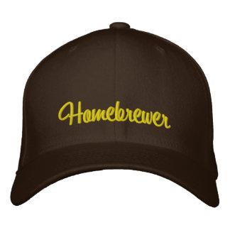 Homebrewer Embroidered Hat
