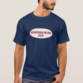 Homebrewing Dad Shirt