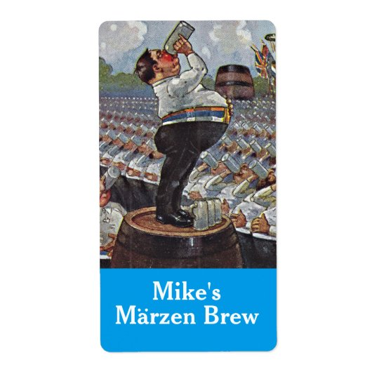 Homebrewing Labels Beer Marzen Brew Oktoberfest
